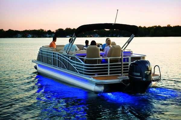 LED pontoon boat sidelights