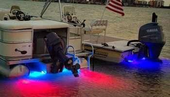 led underwater boat lights