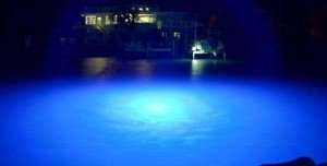 Floating LED Dock Lights