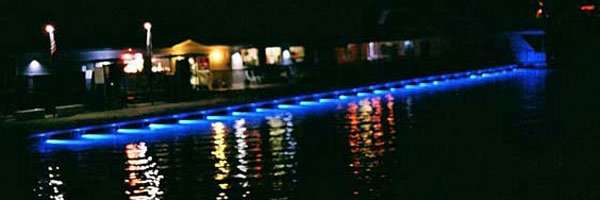 Attached LED Dock Lights