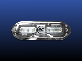 scm-6 underwater led boat lights