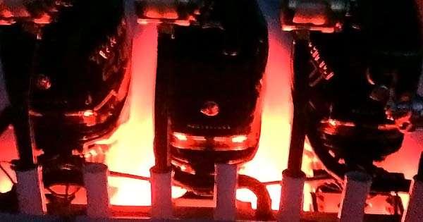 red led transom lights