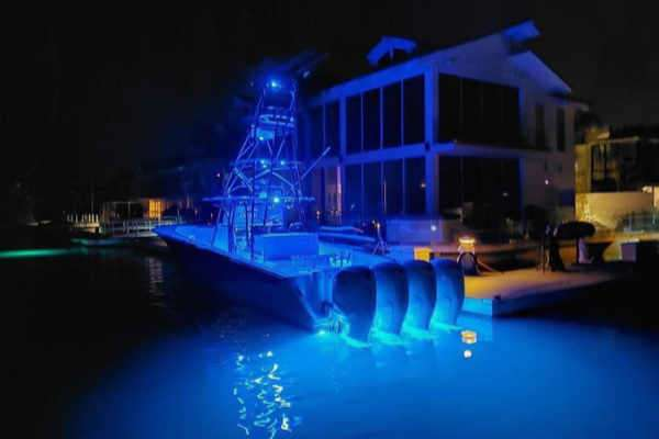 boat underwater lights